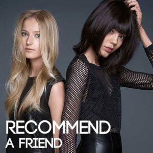 RECOMMEND-A-FRIEND offers & discounts at fringe benefits hair and beauty salon in gloucester