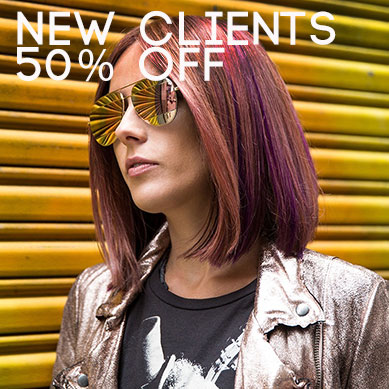 New Client Discount – 50% Off