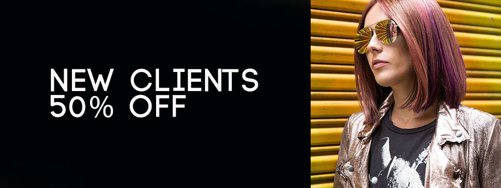 50 % off new clients at fringe benefits hair salon in Gloucester