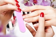 Manicures - getting a manicure