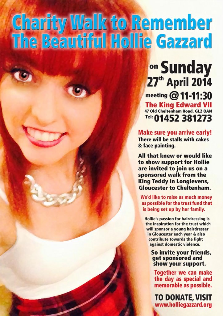 HollieGazzardCharityWalk20140427