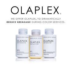 olaplex hair treatments at Fringe benefits hair salon