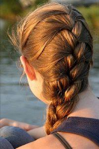 french-braids at Fringe benefits hair salon Gloucester