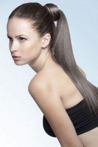 ponytail hair ideas at Fringe benefits hair salon