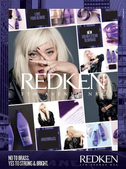 redken blondage available at fringe benefits hair salon
