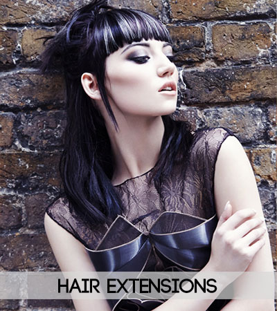 Hair-Extensions at fringe benefits hair salon in gloucester