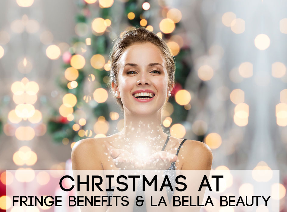 Festive Opening Hours at fringe benefits and la bella beauty salon in Gloucester