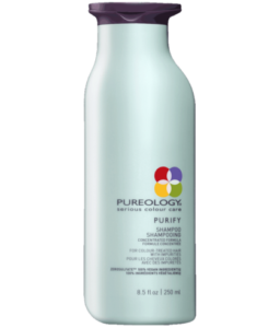 Pureology Purify Shampoo at fringe benefits hair salon in gloucester