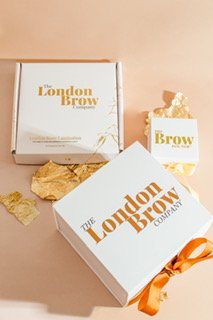 London brow lamination at fringe benefits & la bella beauty in Gloucester