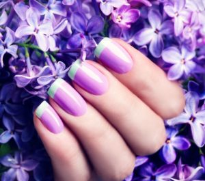 gel nails at fringe benefits nail bar gloucester