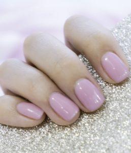 gel nails at fringe benefits beauty salon in gloucester
