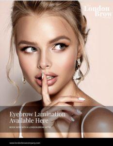 Brow Lamination At Fringe Benefits & La Bella Beauty Salon In Gloucester