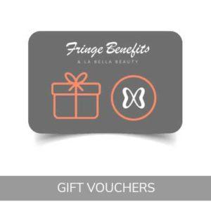 hair and beauty gift vouchers at fringe benefits & la bella beauty salon