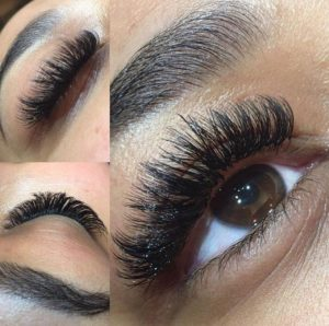 false eyelashes at fringe benefits la bella beauty salon gloucester.jpg2
