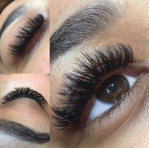 false eyelashes at fringe benefits la bella beauty salon gloucester.jpg2
