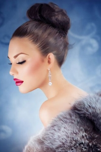 Christmas & New Year Party Hair at Fringe Benefits in Gloucester